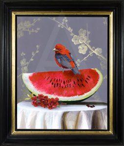 Bird Table 2 by Anna-Marie Buss