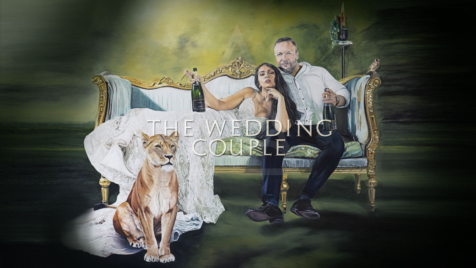 The Wedding Couple by Anna-Marie Buss